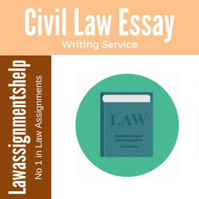 civil law essay Paralegal exam specifications for civil trial law purpose of the exam the purpose of the certification exam is to require an applicant to demonstrate part i consists of 3 essay questions with a total value of 150 points (50 points per essay.