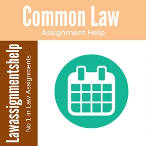 Common Law Assignment Help