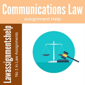 Communications Law Assignment Help