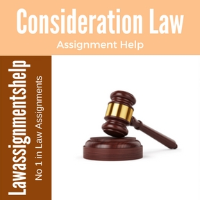 Consideration Law Assignment Help