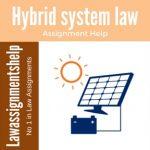Hybrid system law
