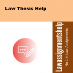 Law Thesis Help